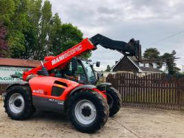 MANITOU MLT634 TURBO TELEHANDLER C/W JOYSTICK CONTROL & PICK UP HITCH *VIDEO*