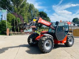 MANITOU MLT741-120LSU TURBO TELEHANDLER *YEAR 2010* C/W PICK UP HITCH