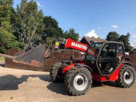 MANITOU MLT741-120LSU TELEHANDLER C/W BUCKET AND TINES ( YEAR 2006 )
