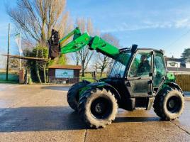 JCB 531-70 TELEHANDLER * YEAR 2007 * C/W PICK UP HITCH