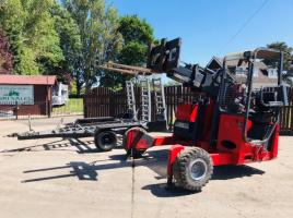 MOFFETT MOUNTAIN M3503B TELESCOPIC C/W SIDE SHIFT & TRAILER