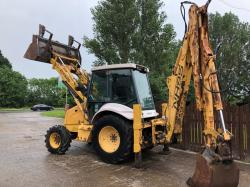 NEW HOLLAND NH95 DIGGER C/W BACK HOE DIGGER