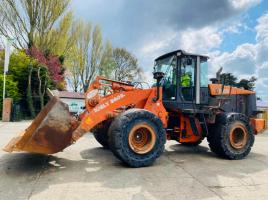 HITACHI ZW220 LOADING SHOVEL * YEAR 2008 * C/W AC CABIN