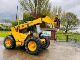 JCB 525-58 4WD TELEHANDLER *AG-SPEC* C/W PICK UP HITCH