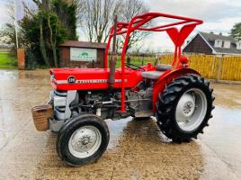 MASSEY FERGUSON 135 TRACTOR C/W POWER STEERING
