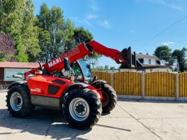 MANITOU MLT629 TURBO * AG SPEC * TELEHANDLER C/W PICK UP HITCH
