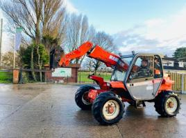 MANITOU MLT628T TURBO TELEHANDLER * AG-SPEC * C/W PICK UP HITCH *SEE VIDEO*