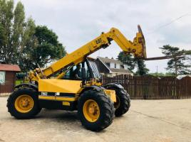 CAT TH82 TURBO TELEHANDLER C/W JOYSTICK CONTROL & PUH