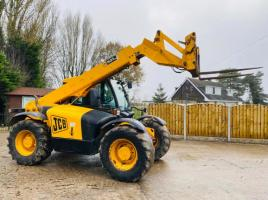 JCB 531-70 TURBO AGRI SUPER TELEHANDLER *AG-SPEC* C/W PUH , 7 METERE REACH * VIDEO *