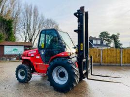 MANITOU M26-4 4WD FORKLIFT * YEAR 2008 * C/W PICK UP HITCH