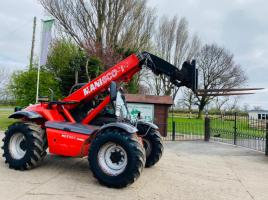 MANITOU MLT627 TURBO TELEHANDLER *AG-SPEC , YEAR 2011 * C/W PICK UP HITCH