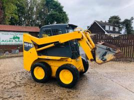 GEHL 4640 TURBO SKIDSTEER C/W HIGH FLOW * ONLY 3288 HOURS  *