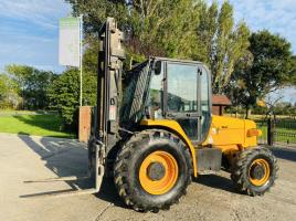 JCB 926 4WD ROUGH TERRIAN FORKLIFT * YEAR 2008 * SEE VIDEO *