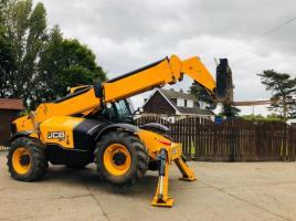 JCB 540-140 TURBO TELEHANDLER *YEAR 2017* C/W SIDE SHIFT ONE OWNER FROM NEW *SEE VIDEO*