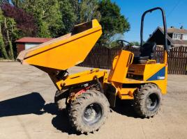 THWAITES 1 TON HIGH TIP DUMPER * YEAR 2017 * ONLY 383 HOURS