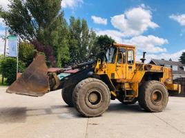 VOLVO BM 120 LOADING SHOVEL C/W BUCKET