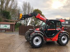 MANITOU MLT 634-120LSU TURBO TELEHANDLER ( PLEASE SEE VIDEO )