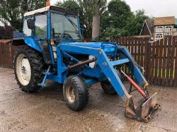 FORD 5610 4WD TRACTOR CW LOADER
