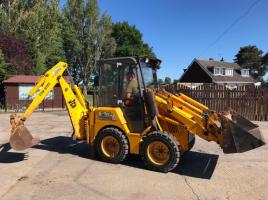 JCB 1CX BACKHOE DIGGER C/W FOUR IN ONE BUCKET