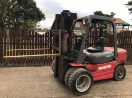 MANITOU CD30P DIESEL FORKLIFT ( YEAR 2007 ) * ONLY 1183 HOURS *