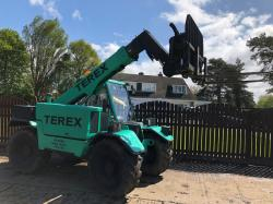 TEREX TX51-19MD TELEHANDLER (YEAR 2007) CW 6 WAY HEADSTOCK *ONLY 1704 HOURS* (SEE VIDEO)