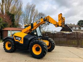 JCB 526-56 AGRI TURBO TELEHANDLER *YEAR 2014* C/W PICK UP HITCH * SEE VIDEO *
