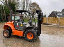 AUSA C200 HX4 4WD ROUGH TERRIAN CONTAINER SPEC FORKLIFT C/W SIDE SHIFT
