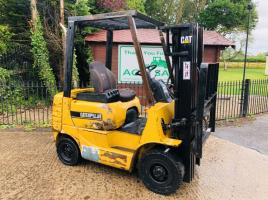CATERPILLAR CONTAINER SPECIFICATION FORKLIFT C/W SIDE SHIFT