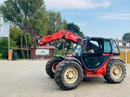 MANITOU MLT629 TURBO TELEHANDLER * ONLY 5848 HOURS * C/W PICK UP HITCH
