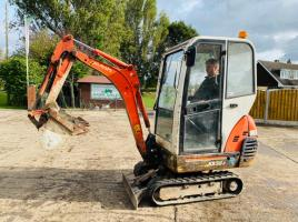 KUBOTA KX36-3 MINI EXCAVATOR * YEAR 2006 * C/W KUBOTA ENGINE & 3 X BUCKETS