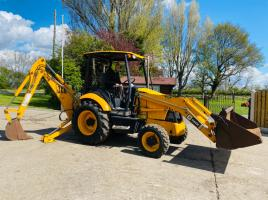 JCB MIDI CX BACKHOE DIGGER C/W BACK ACTOR