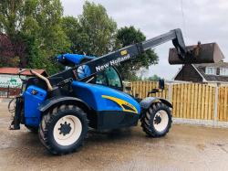 NEW HOLLAND LM5040 TELEHANDLER * YEAR 2009 , 5301 HRS * C/W PUH *