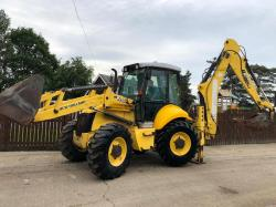 NEW HOLLAND B115B-4PS DIGGER ( YEAR 2008 ) ( PLEASE SEE VIDEO )