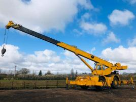 GROVES RT65S 4X4 MOBILE CRANE C/W TRIPLE PUSH OUT BOOM