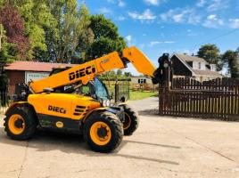 DIECI AGRI 25.6 TELEHANDLER * YEAR 2015 65 PLATE * PLEASE SEE VIDEO *
