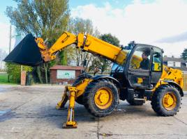 JCB 532-120 TELEHANDLER * 12 METER REACH * C/W UNUSED STICKLANDS BUCKET SEE VIDEO