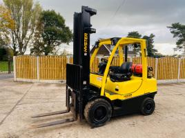 HYSTER 3.0FT FORKLIFT * YEAR 2010 * C/W SIDE SHIFT