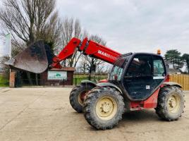 MANITOU MT932 TURBO TELEHANDLER * 9 METER REACH * C/W BUCKET