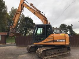 CASE CX130 TRACKED EXCAVATOR ( PLEASE SEE VIDEO )