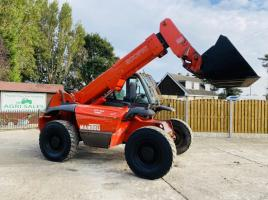 MANITOU MVT665 TURBO TELEHANDLER C/W BRAND NEW STRICKLAND BUCKET * SEE VIDEO *