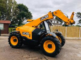 JCB 527-58 AGRI PLUS TURBO TELEHANDLER * YEAR 2016 * C/W PICK UP HITCH