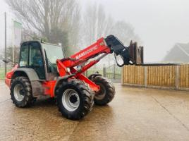 MANITOU MLA628 120LSU PIVOT STEER TELEHANDLER C/W PIN AND CONE HEAD STOCK