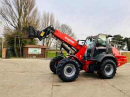 MANITOU MLA630-125 TELEHANDLER ROAD REGISTERED 13 PLATE , ONLY 4745 HOURS