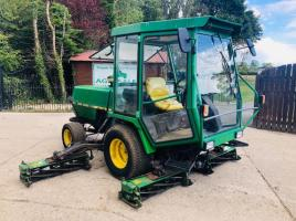 JOHN DEERE 3325 5 GANG MOWER C/W FULLY GLAZED CABIN