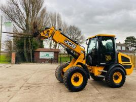 JCB TM220 AGRI 4WD TELEHANDLER *ROAD REGISTERED 65 PLATE* C/W PIN & CONE HEAD STOCK
