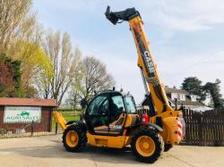 CASE TX130-45 TELEHANDLER YEAR 2011 C/W AC CAB & JOYSTICK CONTROL SHOWING 4915 HRS