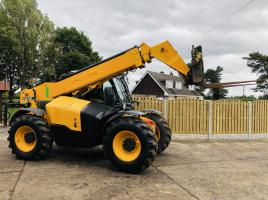JCB 535-95 TELEHANDLER * YEAR 2014 , 9 1/2 METER *ONLY 4946 HOURS *