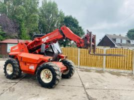 MANITOU MLT523 TURBO TELEHANDLER C/W PICK UP HITCH