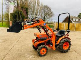 KUBOTA B5001 4WD COMPACT TRACTOR C/W FRONT LOADER & BUCKET