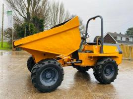 TEREX BENFORD 6 TON 4WD DUMPER * ONLY 1287 HOURS * C/W ROLE BAR
